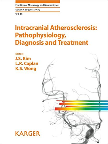 9783318027587: Intracranial Atherosclerosis: Pathophysiology, Diagnosis and Treatment (Frontiers of Neurology and Neuroscience, Vol. 40)