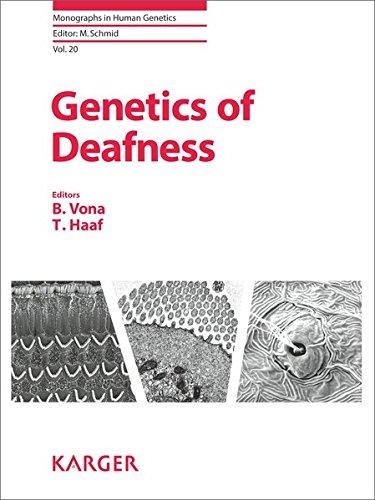Genetics of Deafness (Monographs in Human Genetics, Vol. 20): S. Karger