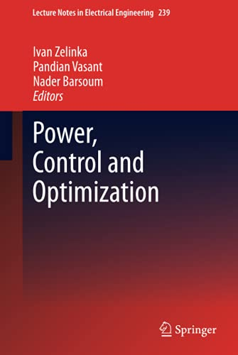 9783319002057: Power, Control and Optimization (Lecture Notes in Electrical Engineering)