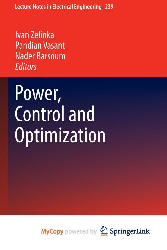 9783319002071: Power, Control and Optimization
