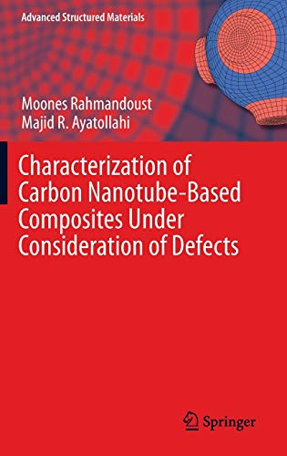 9783319002507: Characterization of Carbon Nanotube Based Composites under Consideration of Defects (Advanced Structured Materials)
