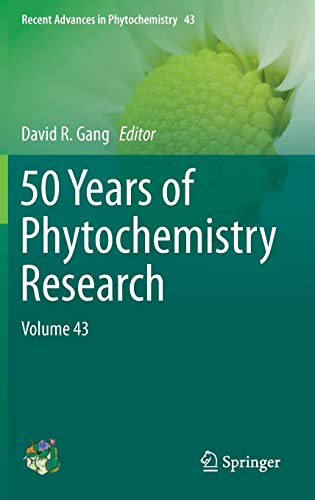 9783319005805: 50 Years of Phytochemistry Research: Volume 43 (Recent Advances in Phytochemistry)