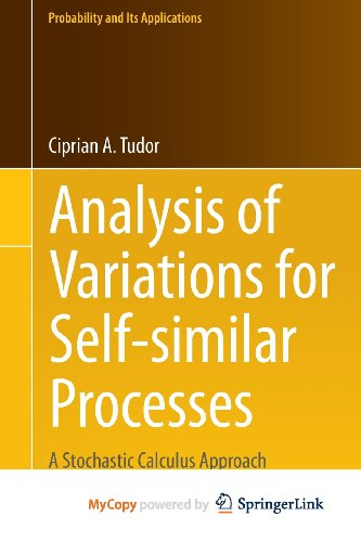 9783319009377: Analysis of Variations for Self-similar Processes: A Stochastic Calculus Approach