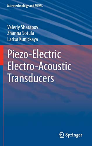 9783319011974: Piezo-Electric Electro-Acoustic Transducers (Microtechnology and MEMS)