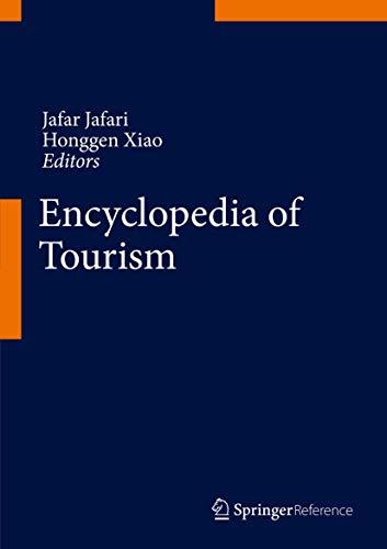 9783319013855: Encyclopedia of Tourism