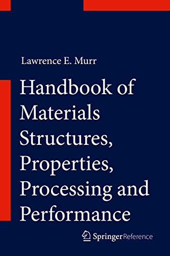 9783319018164: Handbook of Materials Structures, Properties, Processing and Performance