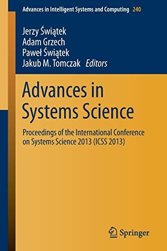 Advances in Systems Science: Adam Grzech