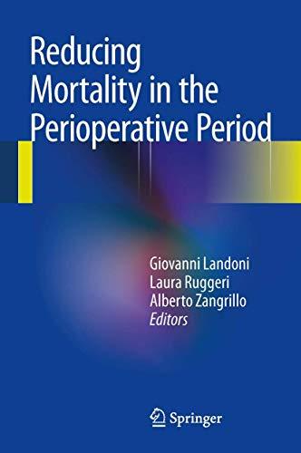 9783319021850: Reducing Mortality in the Perioperative Period
