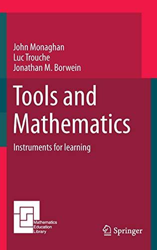 9783319023953: Tools and Mathematics (Mathematics Education Library)