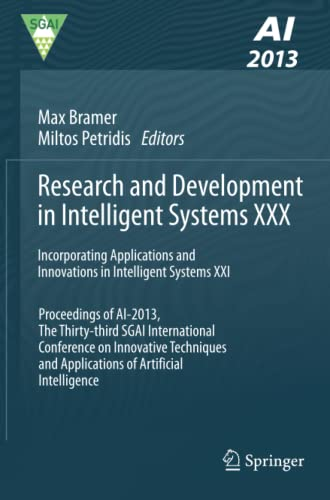 Research and Development in Intelligent Systems XXX: Incorporating Applications and Innovations in ...