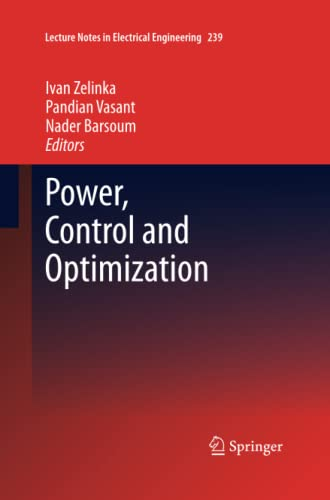 9783319032856: Power, Control and Optimization (Lecture Notes in Electrical Engineering)