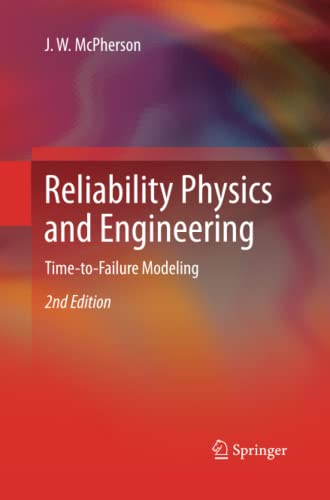 9783319033297: Reliability Physics and Engineering: Time-To-Failure Modeling