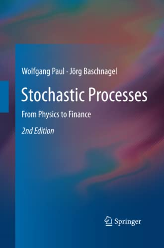 9783319033785: Stochastic Processes: From Physics to Finance