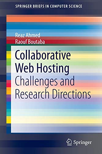 9783319038063: Collaborative Web Hosting: Challenges and Research Directions (SpringerBriefs in Computer Science)