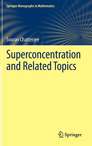 9783319038858: Superconcentration and Related Topics (Springer Monographs in Mathematics)
