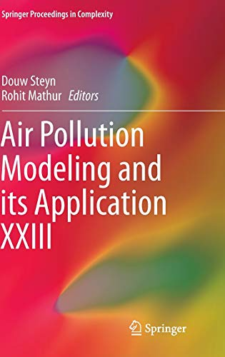 9783319043784: Air Pollution Modeling and its Application XXIII (Springer Proceedings in Complexity)