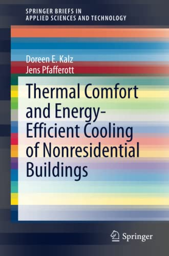 Thermal Comfort and Energy-Efficient Cooling of Nonresidential Buildings: Doreen Kalz
