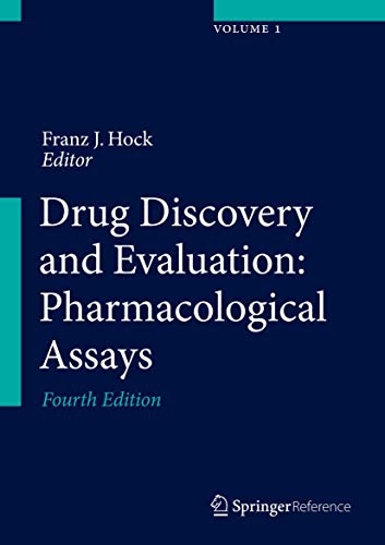 Drug Discovery and Evaluation: Pharmacological Assays (Hardcover)