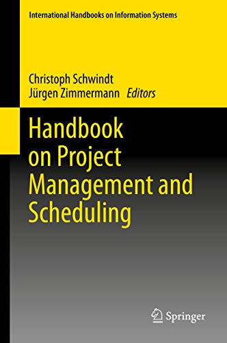 9783319054421: Handbook on Project Management and Scheduling Vol.1 (International Handbooks on Information Systems)