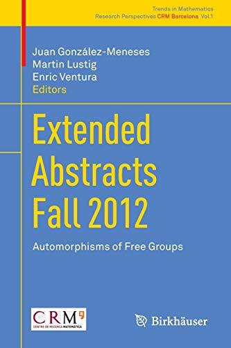 Automorphisms of Free Groups: Juan Gonzalez-Meneses Lopez