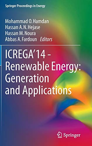 ICREGA'14 - Renewable Energy: Generation and Applications (Springer Proceedings in Energy)