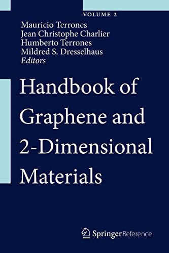9783319057781: Handbook of Graphene and 2-Dimensional Materials