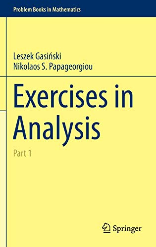 9783319061757: Exercises in Analysis: Part 1 (Problem Books in Mathematics)