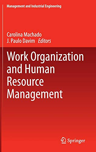 9783319063751: Work Organization and Human Resource Management (Management and Industrial Engineering)