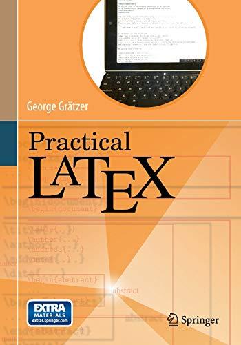 9783319064246: Practical LaTeX