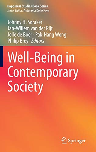 9783319064581: Well-Being in Contemporary Society (Happiness Studies Book Series)