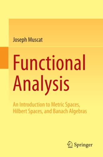9783319067278: Functional Analysis: An Introduction to Metric Spaces, Hilbert Spaces, and Banach Algebras