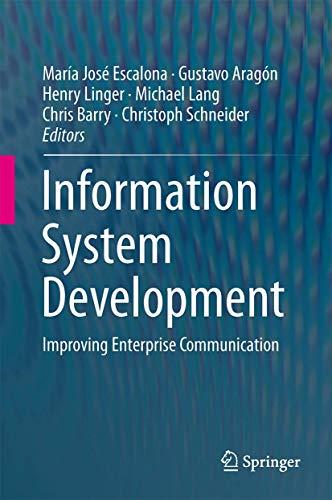 Information System Development: María José Escalona