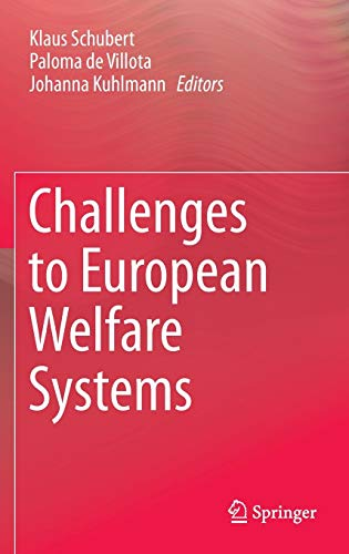 9783319076799: Challenges to European Welfare Systems