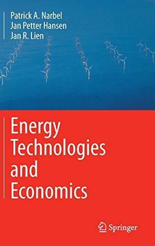 9783319082240: Energy Technologies and Economics