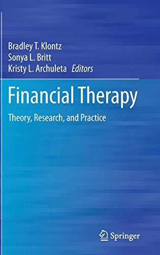 9783319082684: Financial Therapy: Theory, Research, and Practice