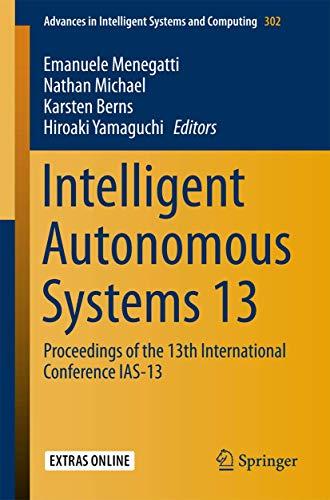 Intelligent Autonomous Systems 13: Emanuele Menegatti
