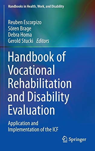 9783319088242: Handbook of Vocational Rehabilitation and Disability Evaluation: Application and Implementation of the Icf
