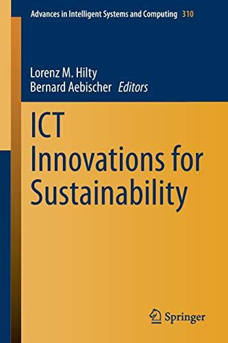 ICT Innovations for Sustainability: Lorenz M. Hilty