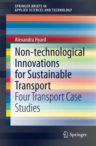 Non-technological Innovations for Sustainable Transport: Alexandra Hyard