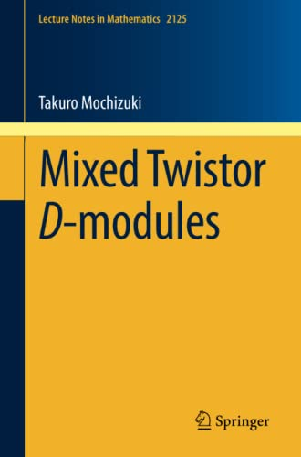 9783319100876: Mixed Twistor D-modules (Lecture Notes in Mathematics)