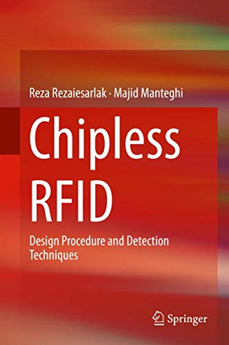 9783319101682: Chipless RFID: Design Procedure and Detection Techniques
