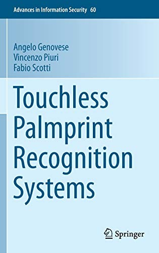 9783319103648: Touchless Palmprint Recognition Systems (Advances in Information Security)