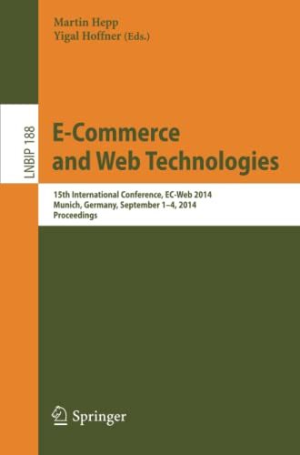 E-Commerce and Web Technologies: Martin Hepp