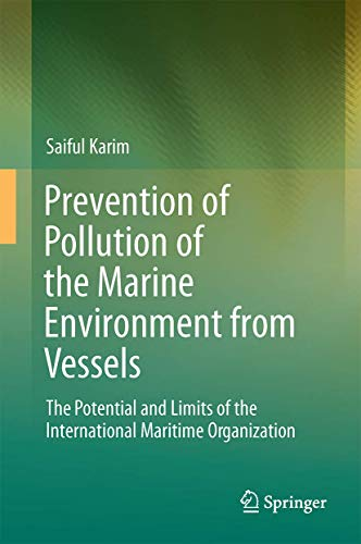 Prevention of Pollution of the Marine Environment from Vessels: Saiful Karim