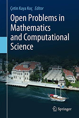9783319106823: Open Problems in Mathematics and Computational Science