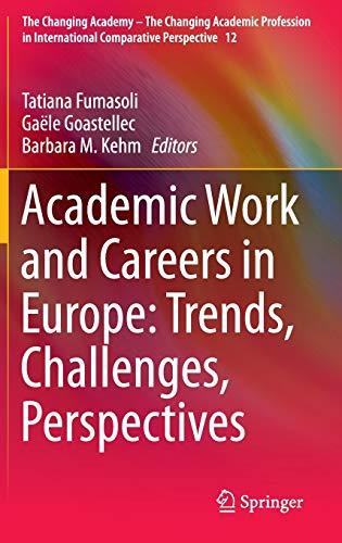 Academic Careers in Europe: Tatiana Fumasoli