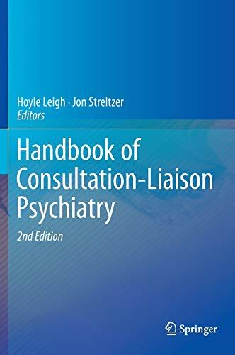 9783319110042: Handbook of Consultation-Liaison Psychiatry