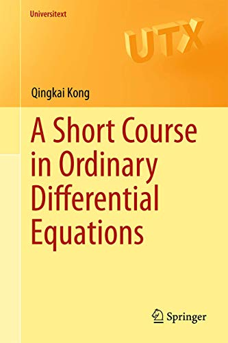 9783319112381: A Short Course in Ordinary Differential Equations (Universitext)