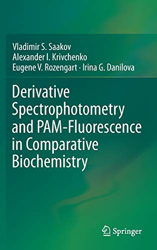 9783319115955: Derivative Spectrophotometry and PAM-Fluorescence in Comparative Biochemistry