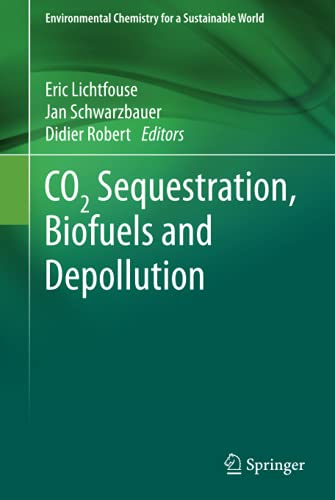 9783319119052: CO2 Sequestration, Biofuels and Depollution (Environmental Chemistry for a Sustainable World)